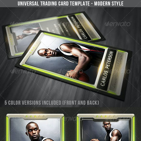 Universal Sport Trading Card 2