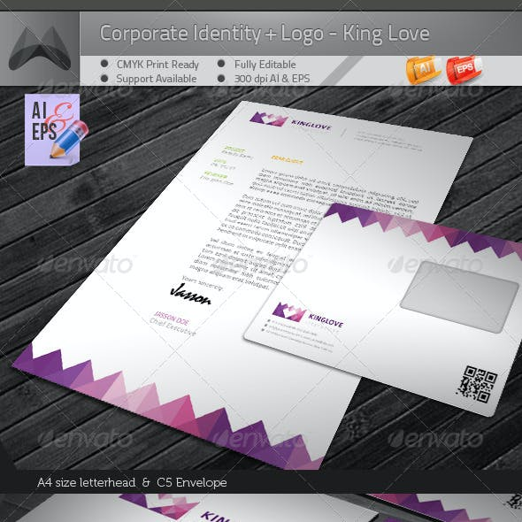 Corporate Identity Package - King Love