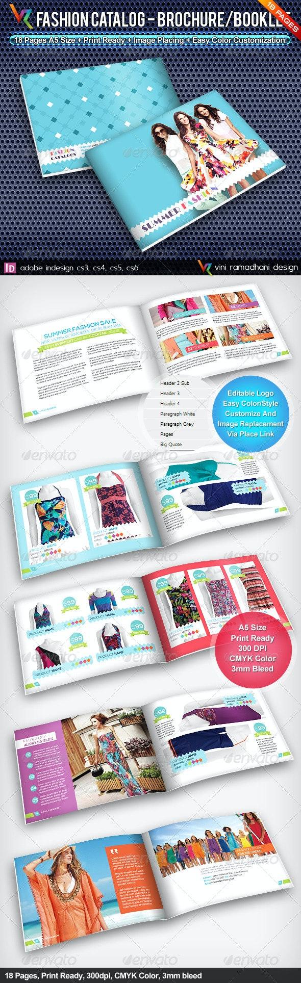 Summer Fashion Catalog Brochure - Catalogs Brochures