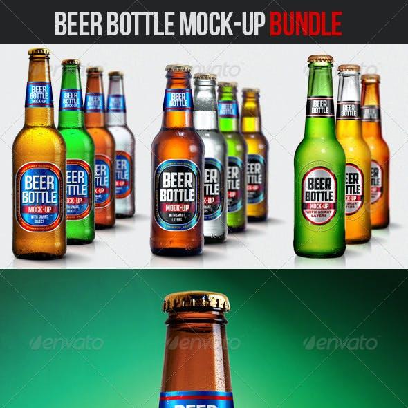 Beer Bottle Mock-Up Bundle