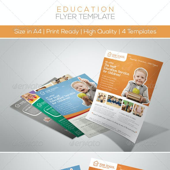 Premium Junior Education Flyers