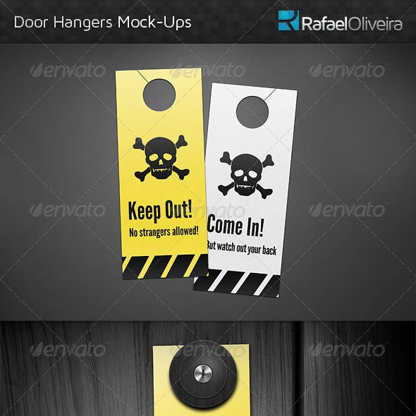 Door Hanger Mock-Ups