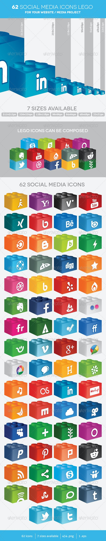 62 Social Media Icons Lego - Media Icons