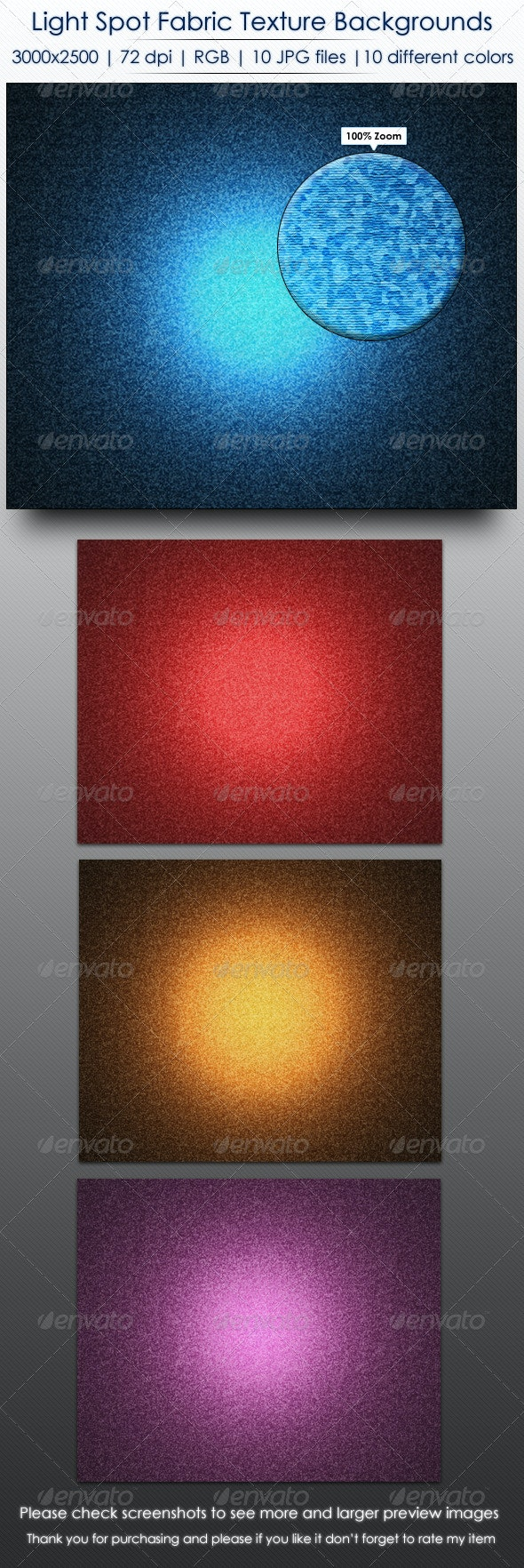 Light Spot Fabric Texture Backgrounds - Abstract Backgrounds