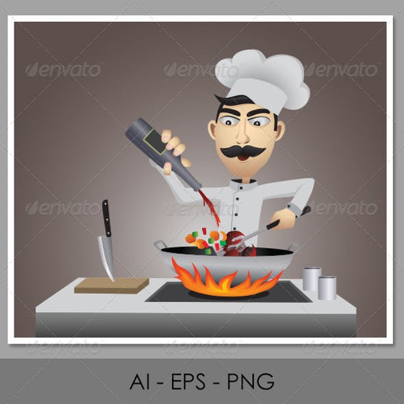 Character Design - Chef