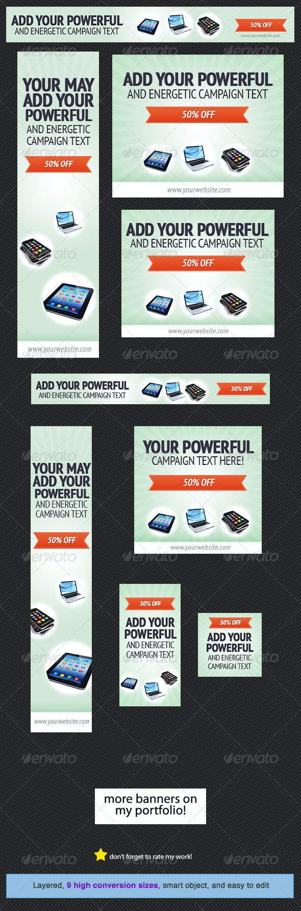 Discount Web Banner Design - Banners & Ads Web Elements