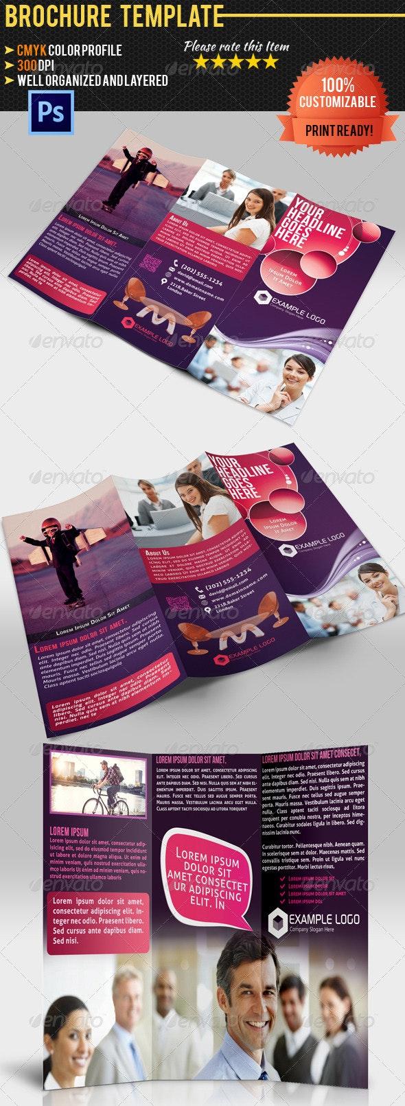 Tri-Fold Corporate Business Brochure - Corporate Brochures