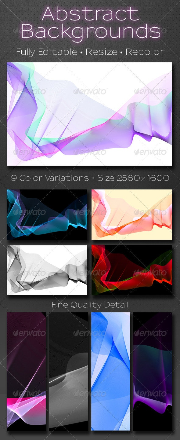 9 Abstract Backgrounds - Backgrounds Graphics