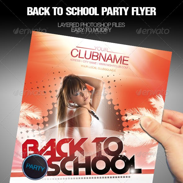 Party Event School Flyer/Poster