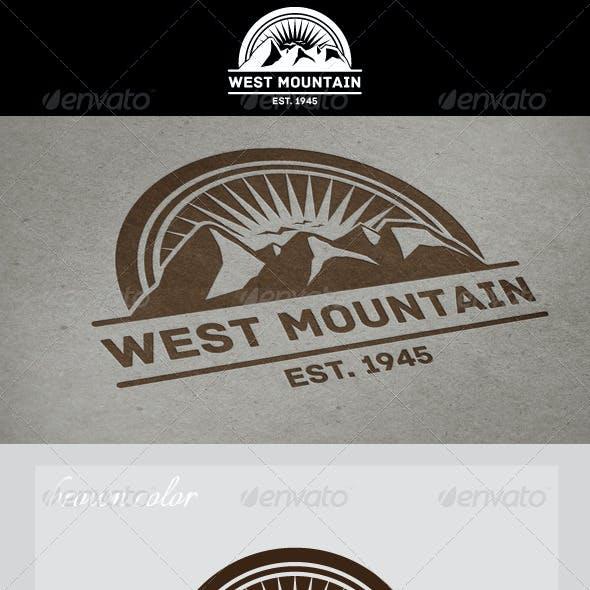 West Mountain Vintage Logo