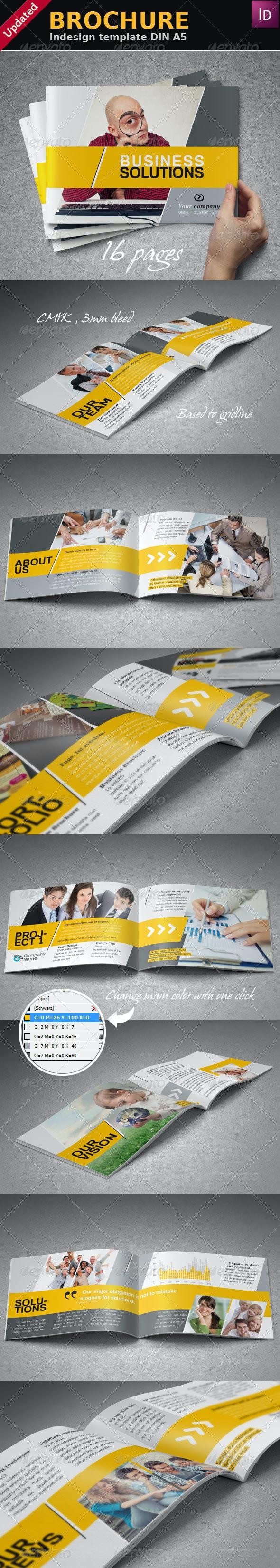 Portfolio Booklet A5 - Portfolio Brochures