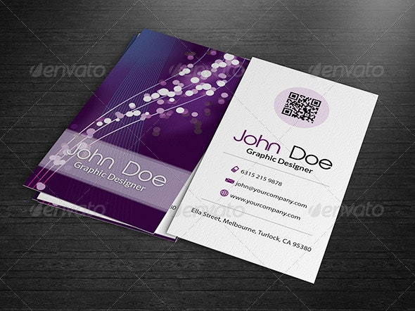 Abstract Business Card - Creative Business Cards