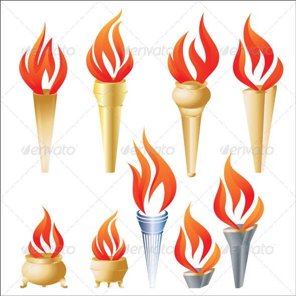 Torch Vector Set