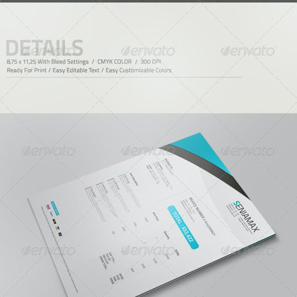 Professional Invoice Template Vol.3