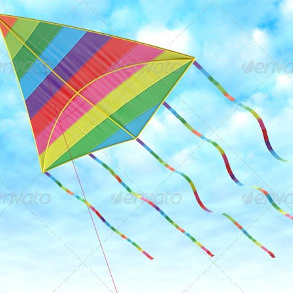 Children's Toy - a Kite