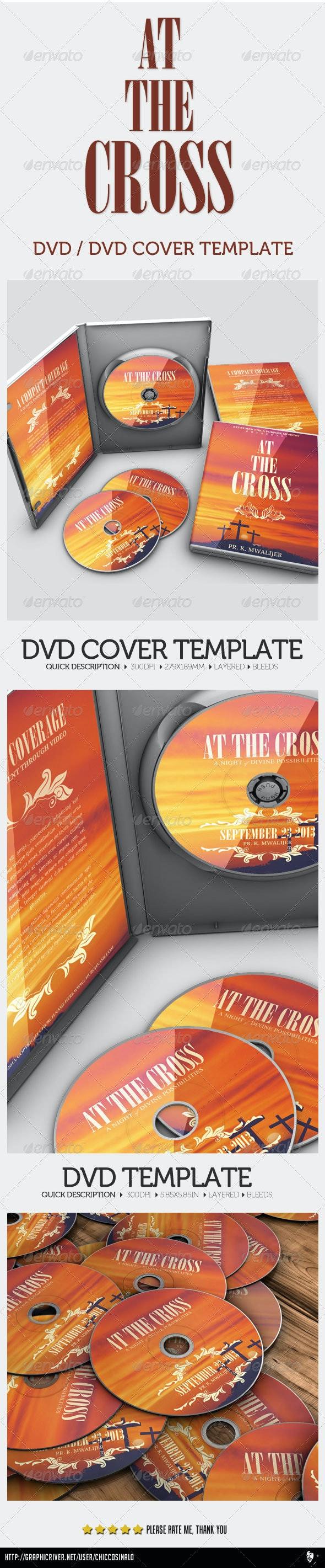 At The Cross Concert Dvd - CD & DVD Artwork Print Templates