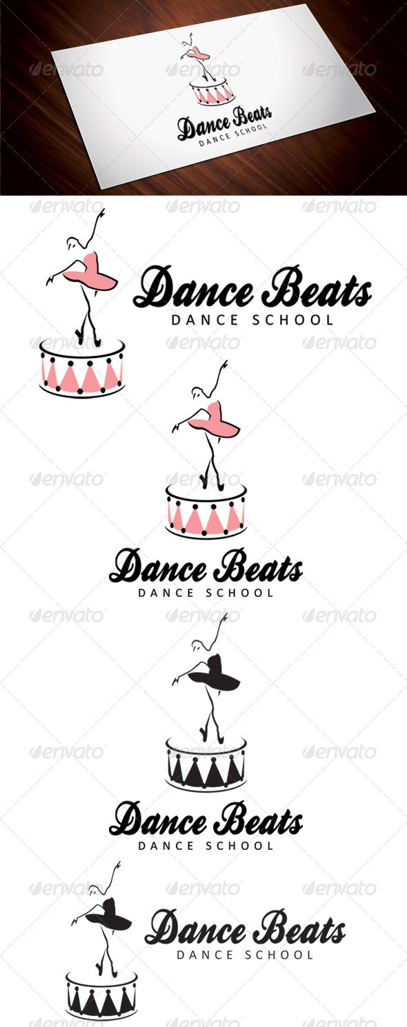 Dance Beats - Humans Logo Templates