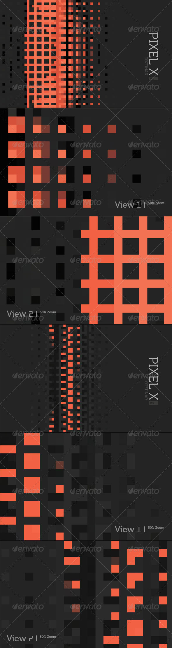 PIXEL X Background - Abstract Backgrounds