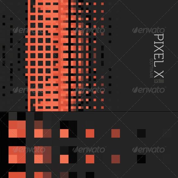 PIXEL X Background