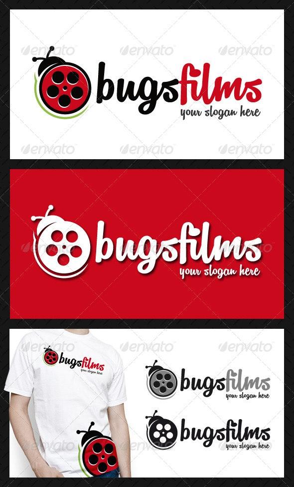 Bug Films Logo Template - Animals Logo Templates