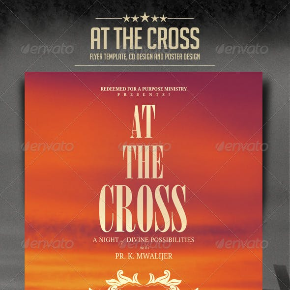 At The Cross Concert Flyer