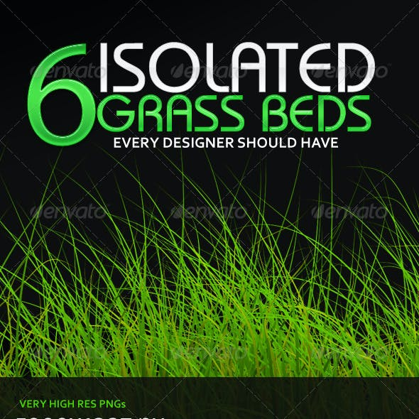 6 Isolated Grass Beds