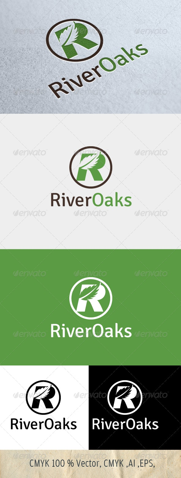 River Oaks - Nature Logo Templates