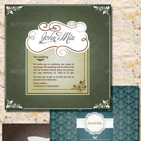 Invitation to Wedding II