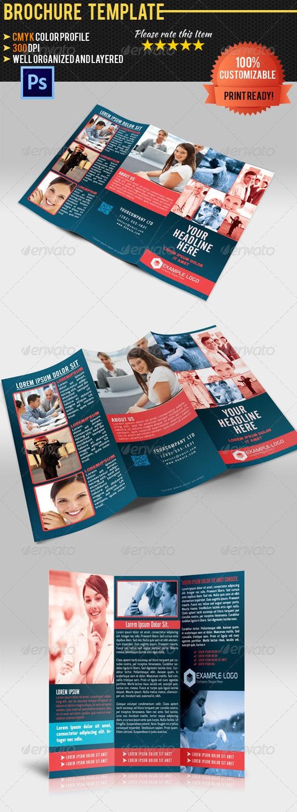 Tri-Fold Corporate Business Brochure 03 - Corporate Brochures