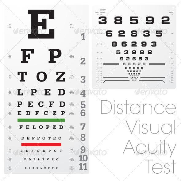 Visual Eyes Test - Health/Medicine Conceptual