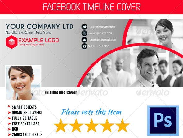Corporate FB Timeline Cover 03 - Facebook Timeline Covers Social Media