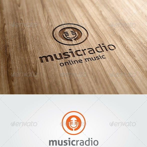 Music Radio Logo Template