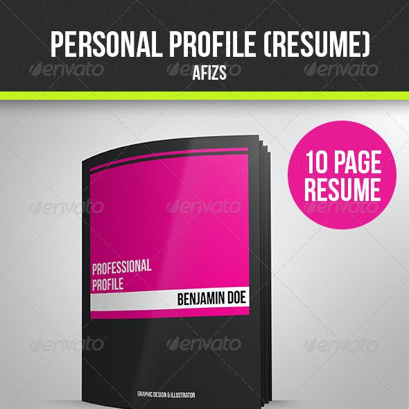 Personal Profile (Resume)