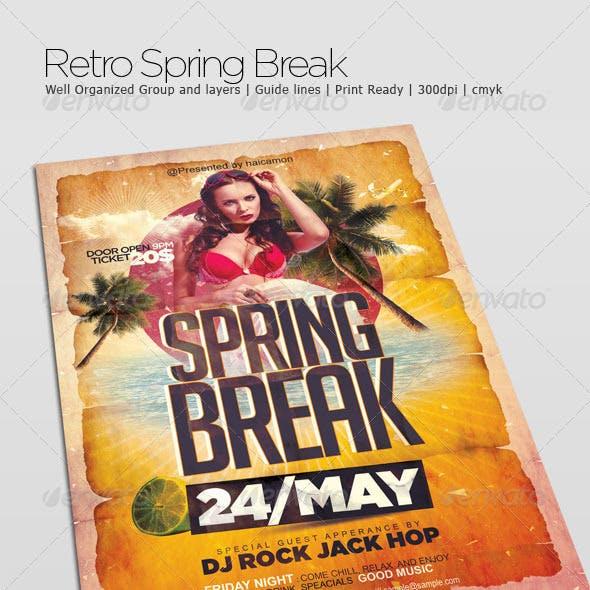 Retro Spring Break