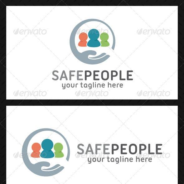 Safe People Logo Template