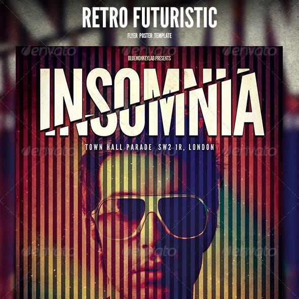 Retro Futuristic Flyer / Poster