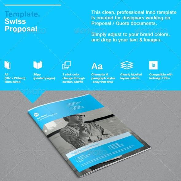 Swiss Proposal Template