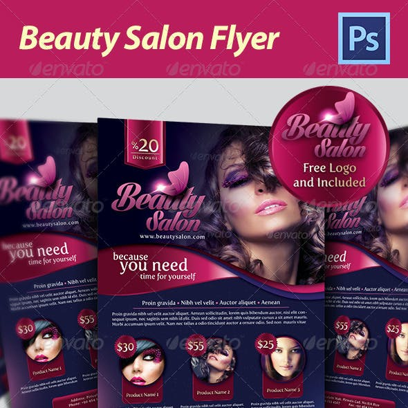 Beauty Salon Flyer