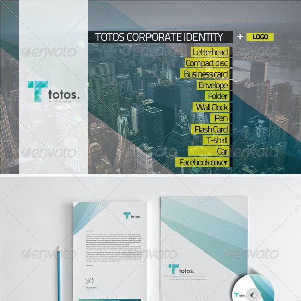 Totos Corporate Identity