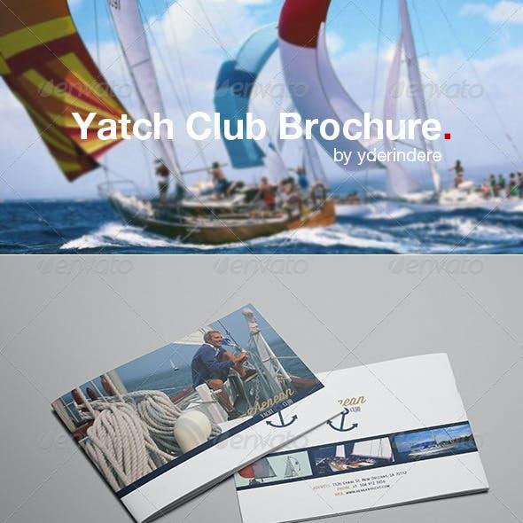 Yacht Club Brochure