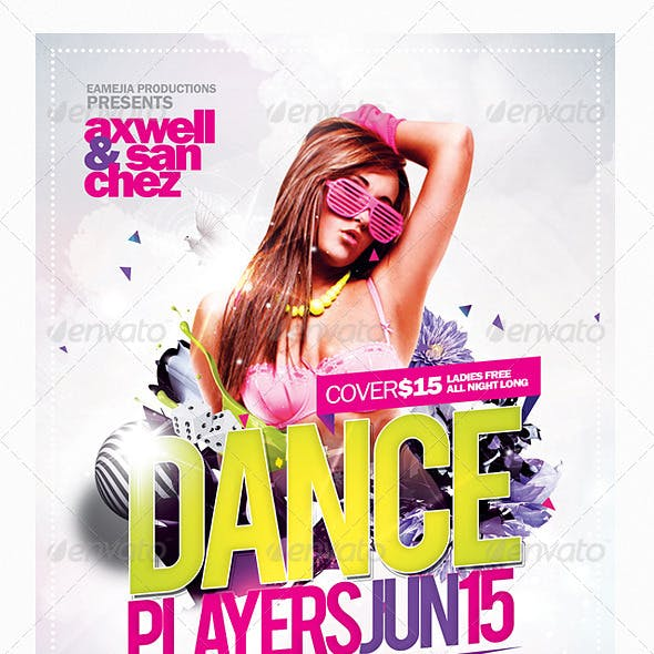 Dance Players Flyer Template