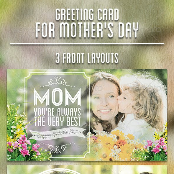 Greeting Card for Mother's Day