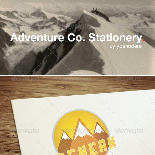 Adventure Co. - Retro Stationery 1
