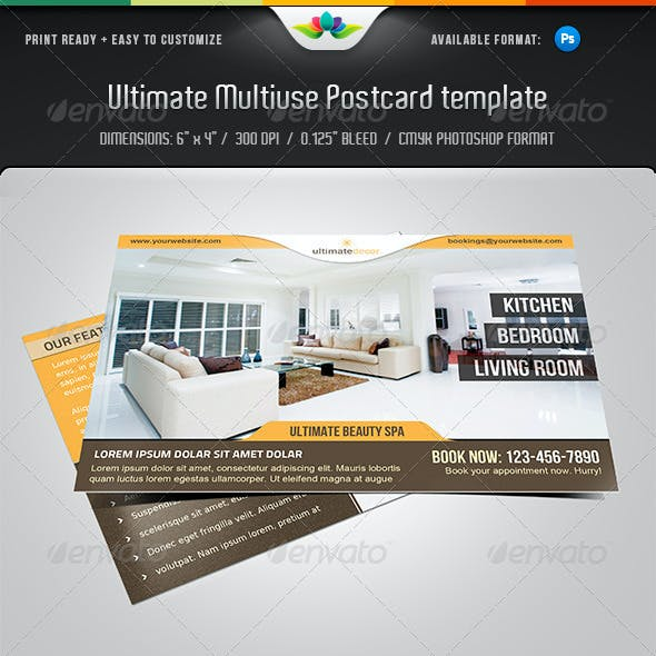 Ultimate Multiuse Postcard