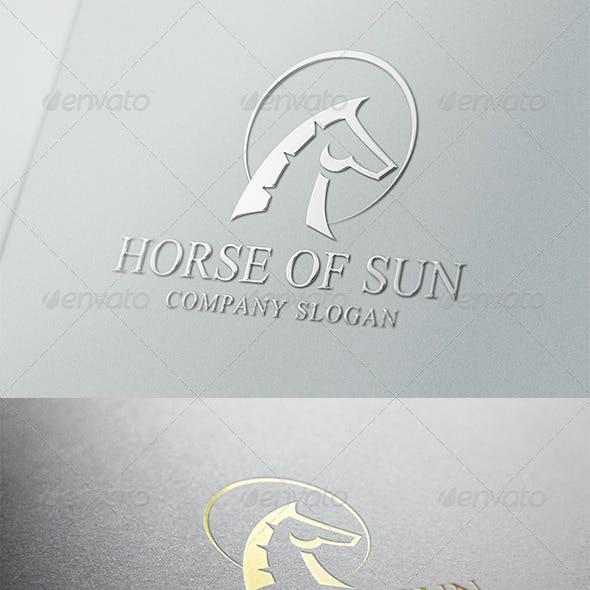 Horse Of Sun Logo