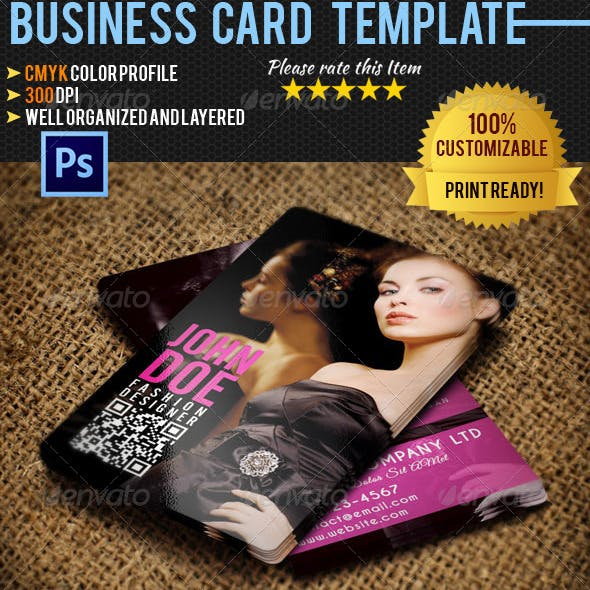 Fashion Business Card 04