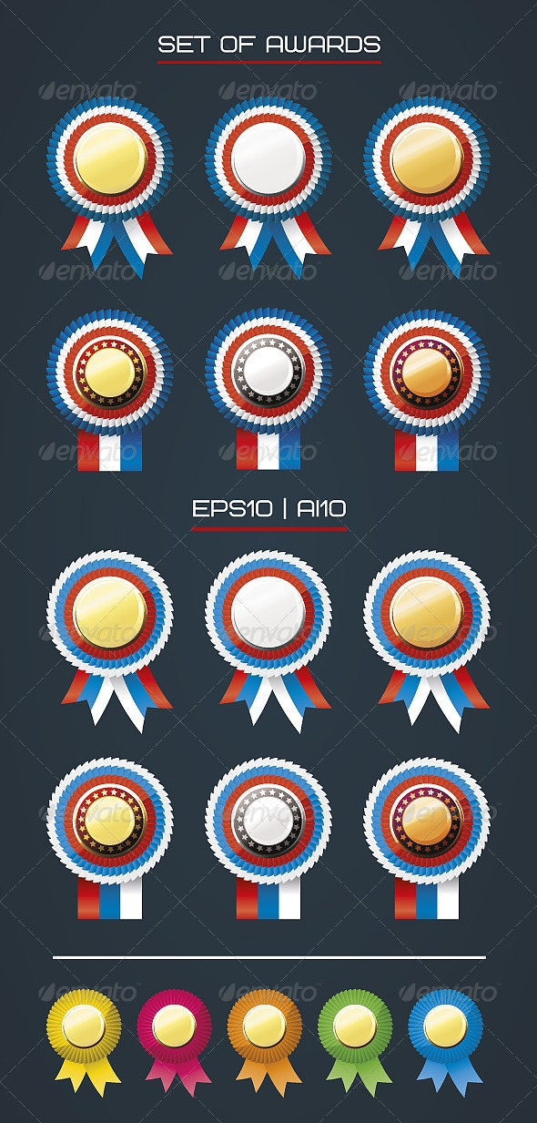 Awards II - Decorative Vectors