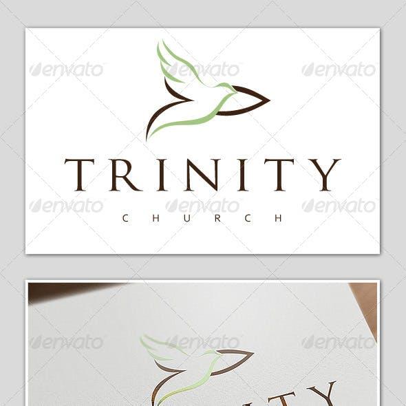 """Trinity Church"" Logo Template"