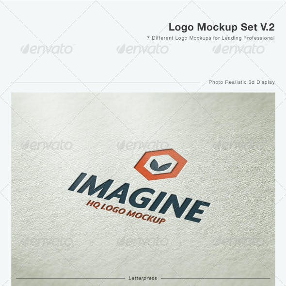 Logo Mock-Up Set V.2