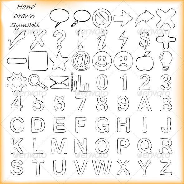 Hand Drawn Decorative Symbols